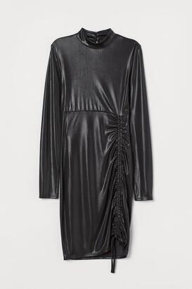 H&M Shimmery Dress - Black