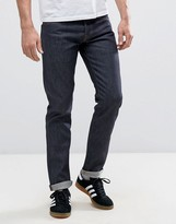 Jack and Jones Intelligence Jeans In Slim Fit Selvage Denim