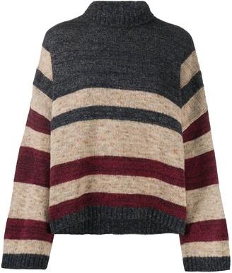Antonio Marras Striped Wool Jumper