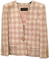 Balmain Pink Cotton Jacket