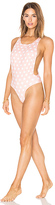 Lolli Swim Daydream One Piece in Peach. - size L (also in M,S,XS)