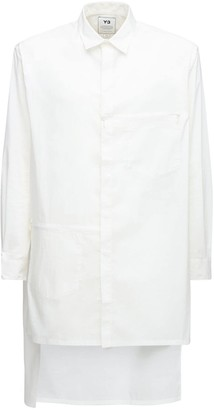 Y-3 Classic Cotton Blend Long Shirt