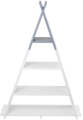 Lloyd Pascal Teepee Medium 4 Tier Floor Standing Kids Shelving Unit