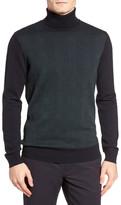 Ben Sherman Prince Of Wales Turtleneck Sweater