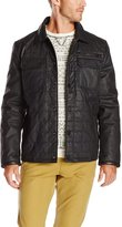 Vince Camuto Men's Carbon Coated Quilted Jacket