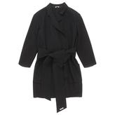 Miu Miu Black Wool Coat