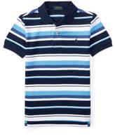 Polo Ralph Lauren Striped Cotton Mesh Polo Shirt (2-4 years)