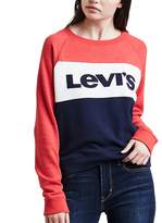 Levi's Women's Colorblock Crewneck Sweatshirt