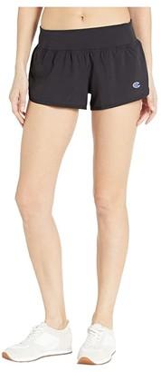 Champion Sport Shorts (Black) Women's Shorts