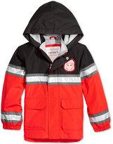Carter's Hooded Firefighter Jacket, Toddler Boys (2T-4T)