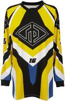 Rag & Bone Optical Moto Print Sweatshirt