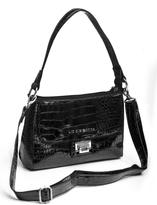 Liz Claiborne Women's Croc Shoulder Bag