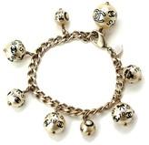 Chanel Gold Tone Metal Fake Pearl Bracelet