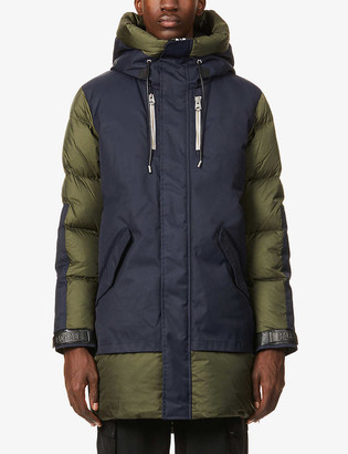 Mackage Simon loose-fit shell-down puffer jacket