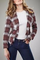 Insight Plaid Short Jacket