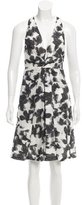 Thakoon Abstract Print Devoré Dress w/ Tags