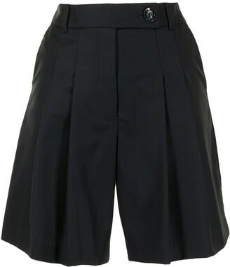 ANNA QUAN Ethan high-rise tailored shorts
