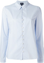 Armani Jeans plain shirt - women - Cotton/Spandex/Elastane - 40