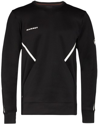 Mammut Avers logo-print performance top