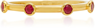 Octavia Elizabeth 18K Gold Ruby Ring