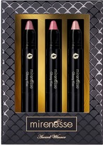 Mirenesse Glossy Kiss Lips/Cheeks Natural Soft Look Trio