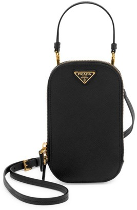 Prada Mini Leather Top Handle Bag
