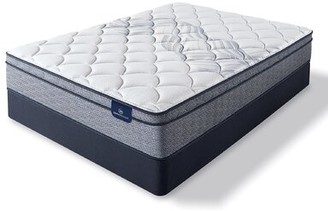 "Serta Perfect Sleeper 11"" Elkins II Euro Top Plush Innerspring Mattress and Box Spring Mattress Size: Twin, Box Spring Height: Low Profile (5"")"