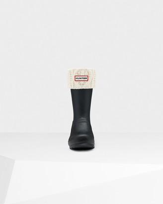 Hunter Cable Cuff Short Boot Socks