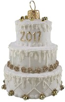 Nordstrom Handblown Glass Wedding Cake Ornament