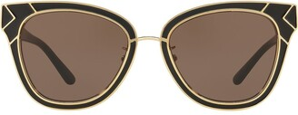 Tory Burch Ovesized Frame Sunglasses