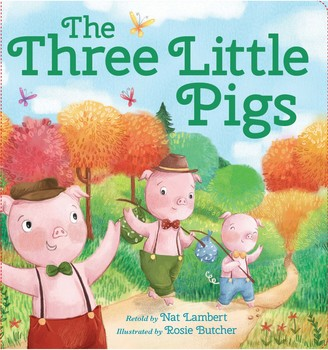 Baker & Taylor The Three Little Pigs Children's Book