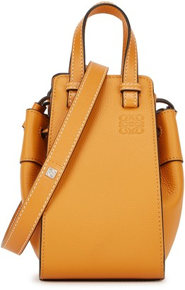 Loewe Hammock Mini Mustard Leather Cross-body Bag