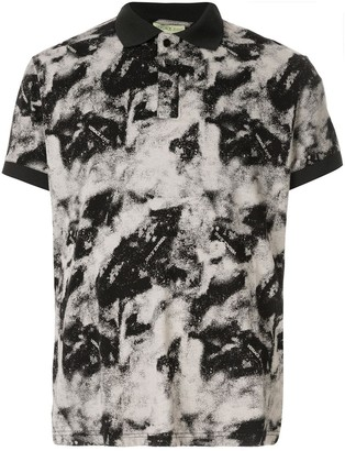 Versace Painted Polo Shirt