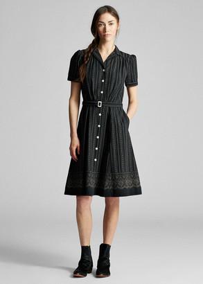 Ralph Lauren Belted Cotton Shirtdress
