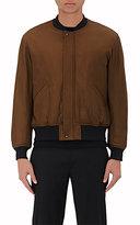 TOMORROWLAND Men's MA-1 Tech-Fabric Bomber Jacket-GREEN