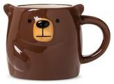 Threshold Bear 7oz Earthenware Mug Brown