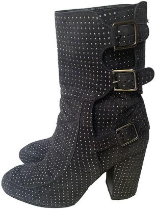 Laurence Dacade Grey Suede Boots