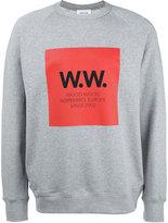 Wood Wood logo print sweatshirt