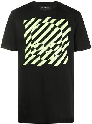 Hydrogen skull print T-shirt