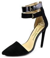 Vivienne Westwood Holt Pointed Toe Suede Heels.