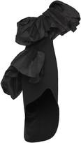 Maticevski Attentive Ruffled Taffeta Dress
