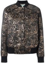 Kenzo 'Eyes' jacquard bomber jacket