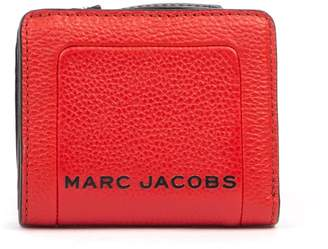 Marc Jacobs Mini Compact Red Leather Wallet