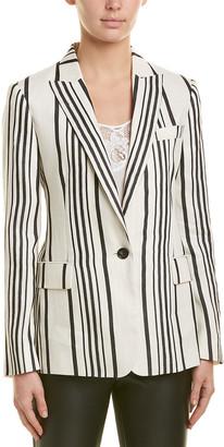 Reiss Rodeo Linen-Blend Jacket