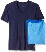 Nautica Men's Cotton V-Neck T-Shirt