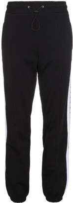 MSGM Brand Stripe Track Trousers
