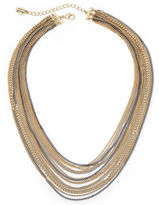 Nicole Miller Nicole By nicole by Mixed Metal Multi-Chain Necklace