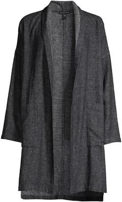 Eileen Fisher Hemp & Cotton Kimono Coat