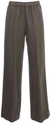 Aspesi Linen Pants Elastic Waist