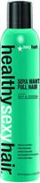 Sexy Hair Healthy Soya Want Full Hair Firm Hold Hairspray 300ml